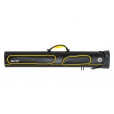 "Billiard Cue Hard Case ""Bear"", black-yellow, 2/4, 86 cm"